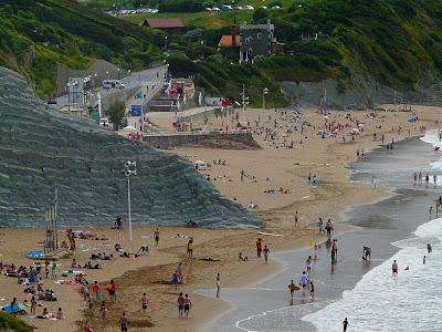 Sesión de surf del 17 de Julio del 2008 - Sopelana