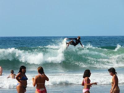 sesión de surf del 30 de julio del 2008 - sopelana