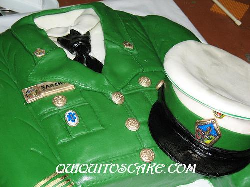 Torta chaqueta uniforme