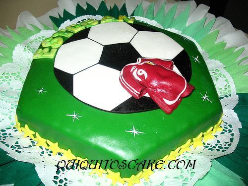 Torta de fútbol La vinotinto
