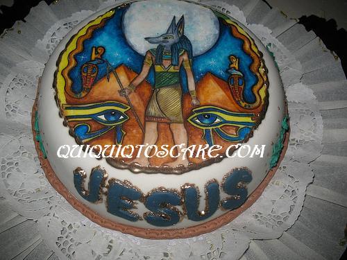 Torta Dios Anubis