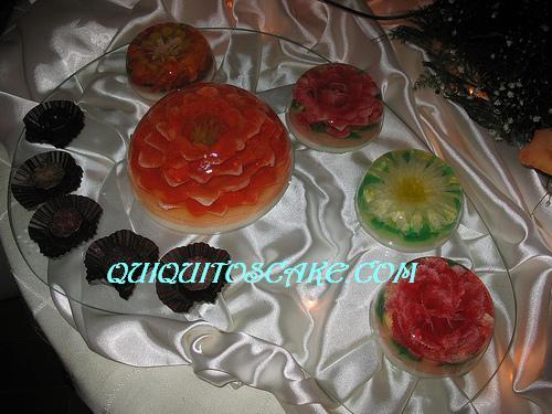 Mesa gelatinas 3 D