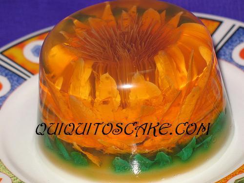 gelatina Girasol 3 D