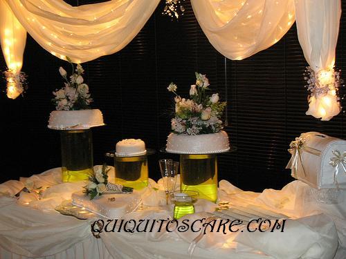 Torta de decoración Boda