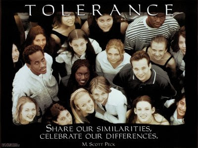 Tolerance - Used from http://diversitypropaganda.blogspot.com - Licenced under CC