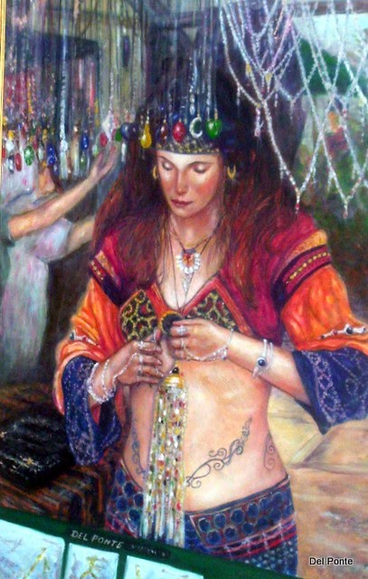 """Gypsy Girl"" by DEL PONTE"