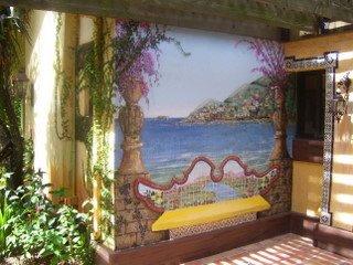 Exterior Mural Dr. Sperber Resident