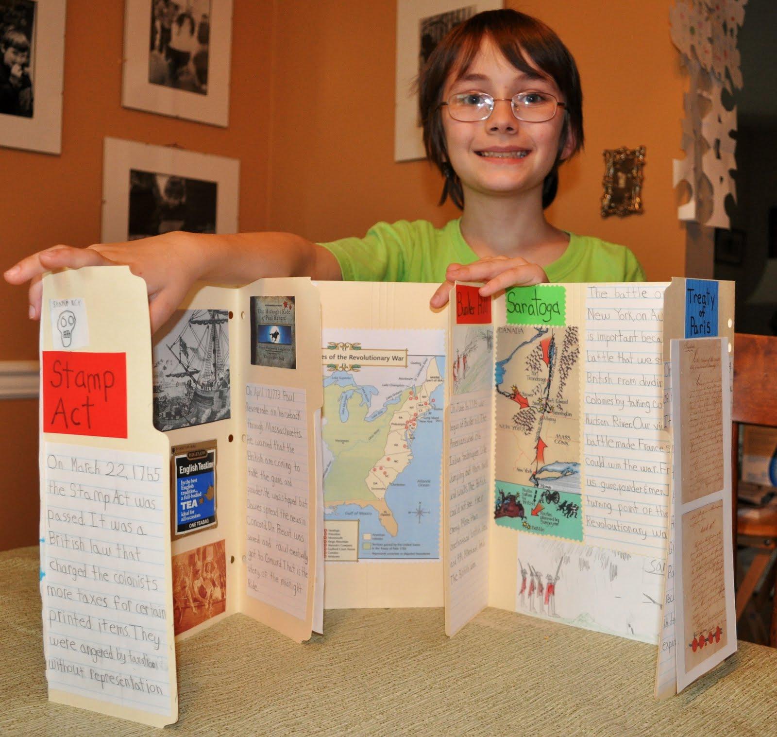 Cami S School At Home Revolutionary War Lapbook