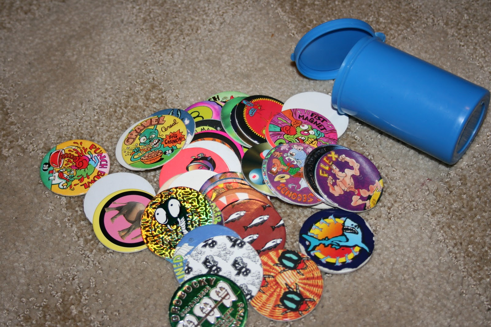 When I Was a Kid in the 90's — POGS