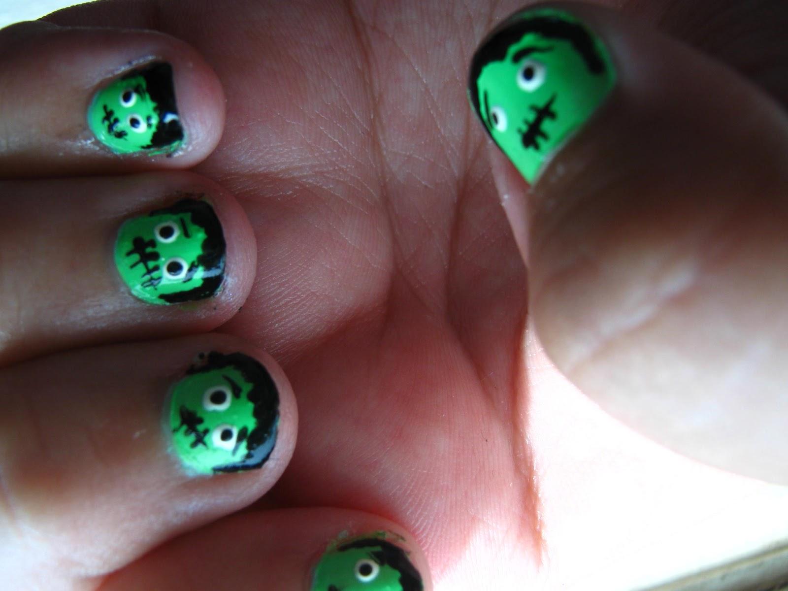 Beauty Scoop: Frankenstein Nails!