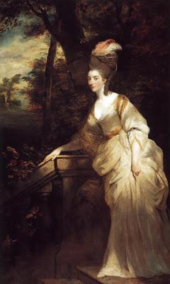 Joshua Reynolds  - Georgiana, Duchess of Devonshire,1776