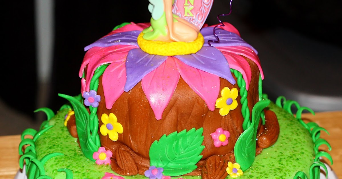 Tinkerbell Birthday Cake Best Collections Cake Recipe