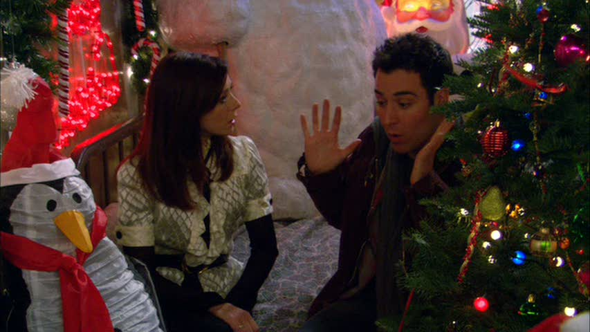 How I Met Your Mother Christmas.Holiday Pop Day 18 Ted Calls Lily A Grinch Please