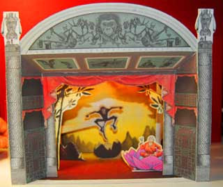 Build Your Own Monkey Theatre Papercraft