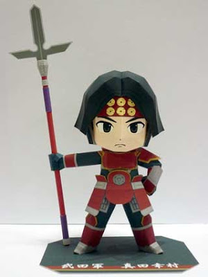 Samurai Warriors Papercraft