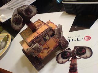 Les jouets en papier Wall-E+paper+model