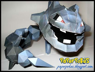 Pokemon Steelix Papercraft
