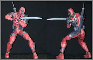 Marvel Comics Deadpool Papercraft