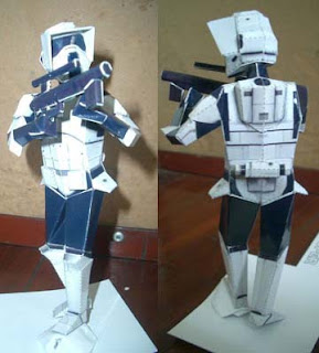 Star Wars Scout Trooper Papercraft