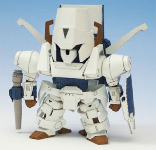 Heavy Metal SD L.Gaim Papercraft