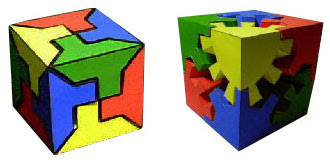 Puzzle Cube Papercraft Toys