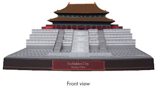 Forbidden City Papercraft Front