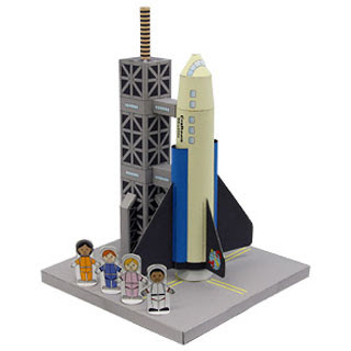Space Shuttle Papercraft