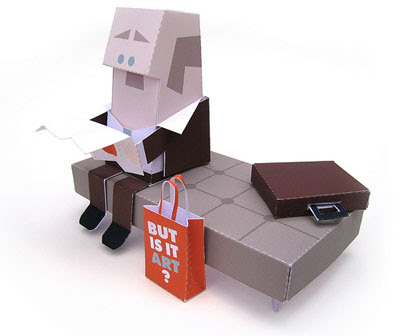 But Is It Art Papercraft