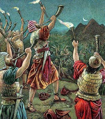 Resultado de imagen de Gedeón y los madianitas