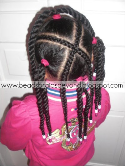 Beads Braids And Beyond X Cornrow And Three Strand Twists