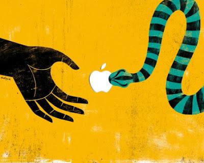 Dugaan Logo Apple Terinspirasi Dari Kisah Adam dan Hawa - 3 Mitos Tentang Makna Logo Apple Dan Makna Sesungguhnya