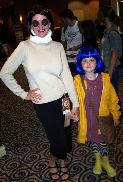 Evil Buttons Coraline Cosplay