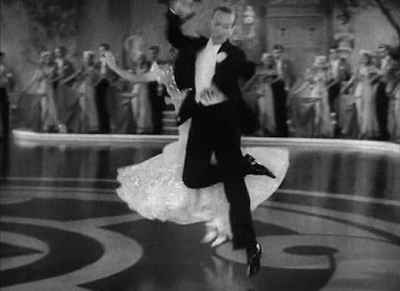 fred astaire Sandrich Top Hat