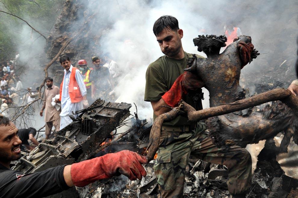Shiraz Hassan Unseen Pics Of Islamabad Air Crash