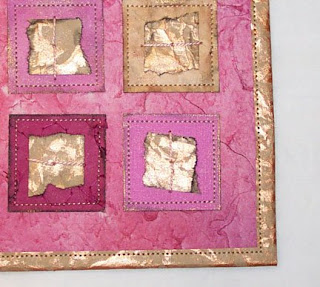 peek at Paper Quilting Explorations project