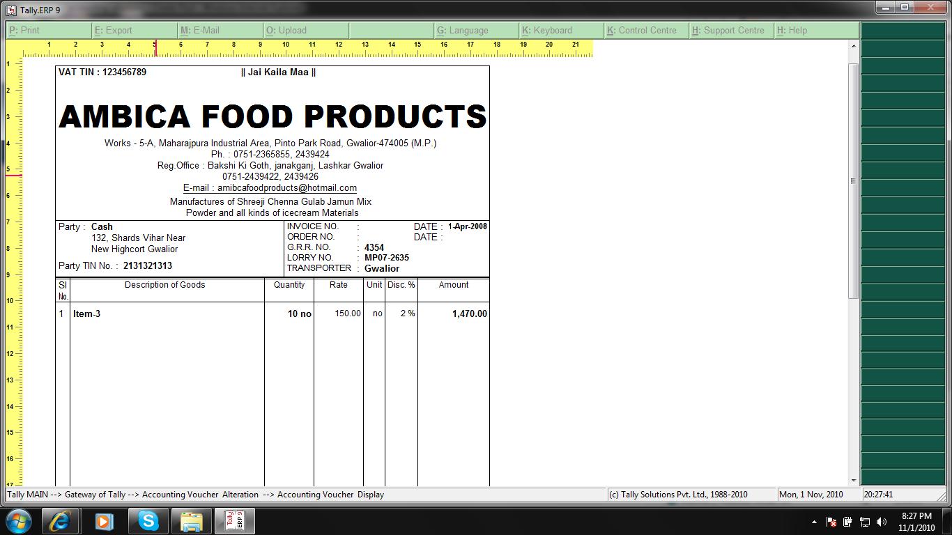 Food Bill Format | www.imgkid.com - The Image Kid Has It!