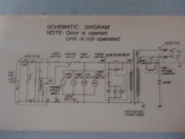 Ge Microwave Wiring Diagram - Wiring Diagrams List on