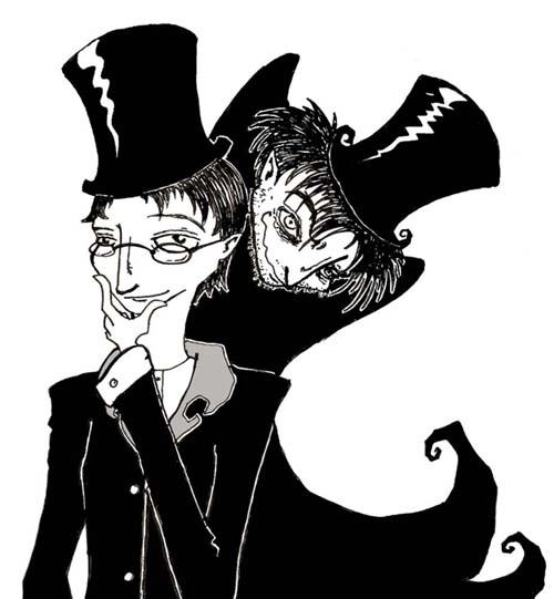 Black swan vs jekyll and hyde