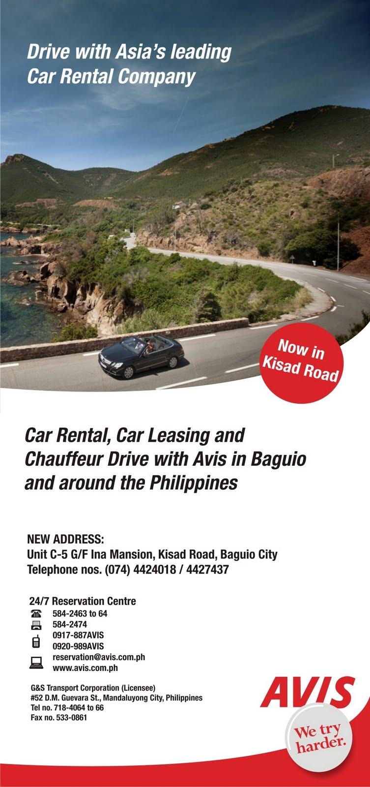 Baguio City Rent A Car Self Drive