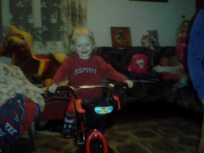 na rowerku