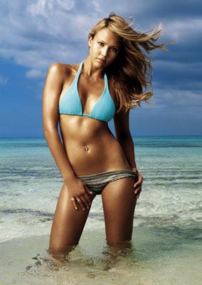 bikini Jessica Alba