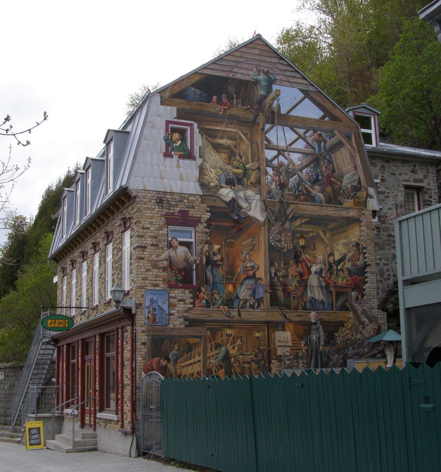 Rambling Traveler Wall Murals Of Quebec City