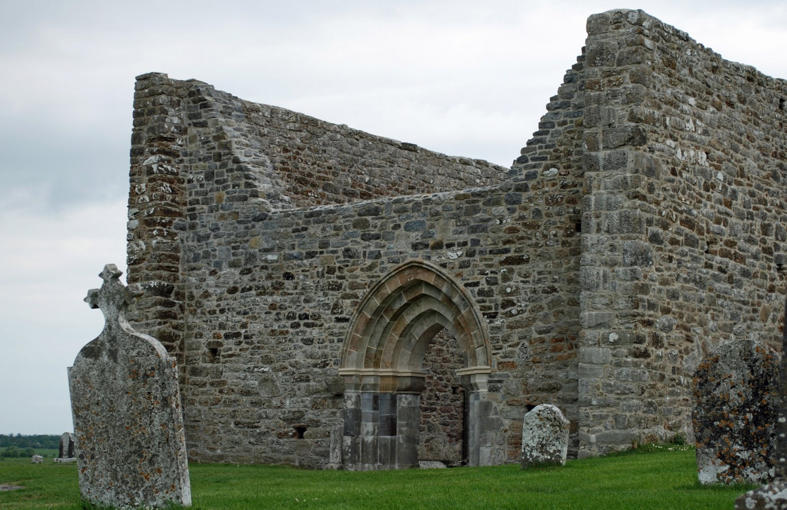 Cathedral at Clonmacnois