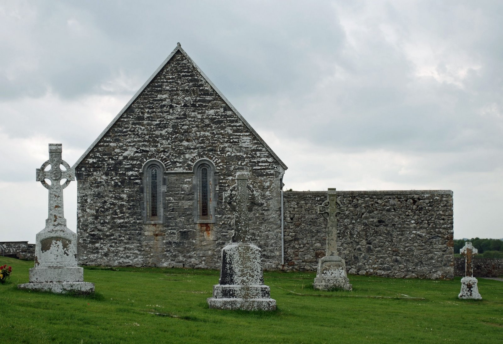 Temple Connor at Clonmacnois