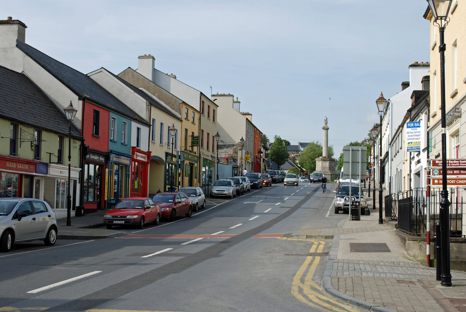 bridge street, westport, county mayo, ireland