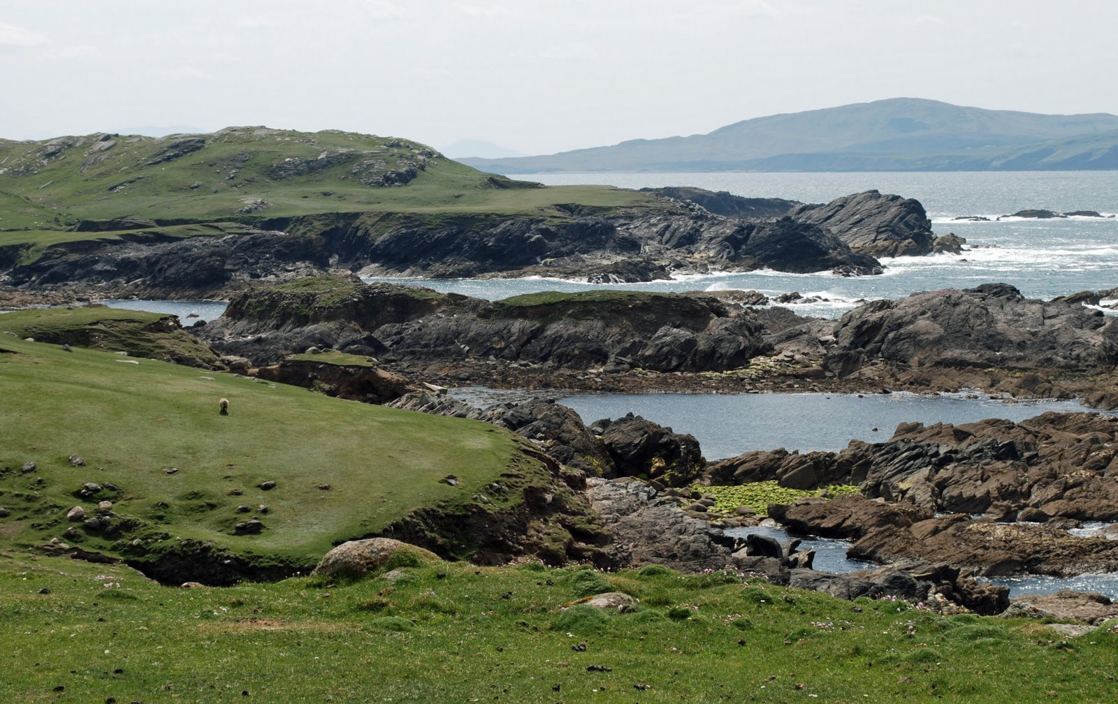 atlantic coast drive, achill island
