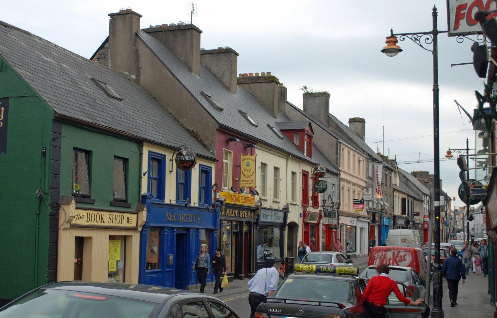 main street, castlebar, mayo, ireland