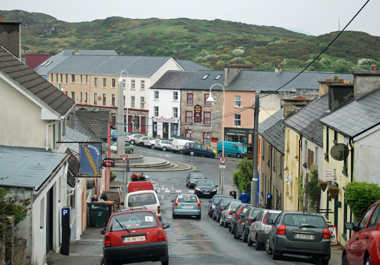 Cat Wall Murals Rambling Traveler Clifden In County Galway Ireland