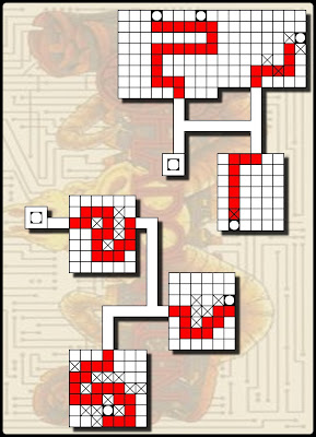 The Chessboard Factory: Shadowrun (Snes) maps / walkthrough