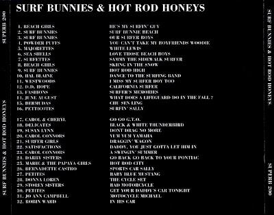 VA - Surf Bunnies & Hot Rod Honeys